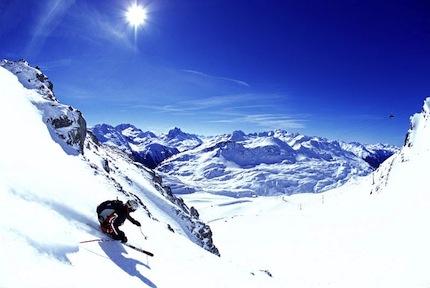 10 Самых опасных горнолыжных спусков европы.