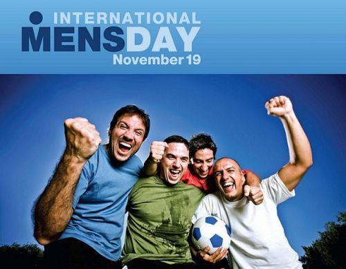 19 Ноября – международный мужской день