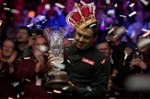 33 Короны: ронни о'салливан выиграл турнир, обновив несколько рекордов