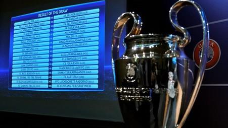 6 Августа состоятся первые ответные матчи третьего квалификационного раунда лиги чемпионов
