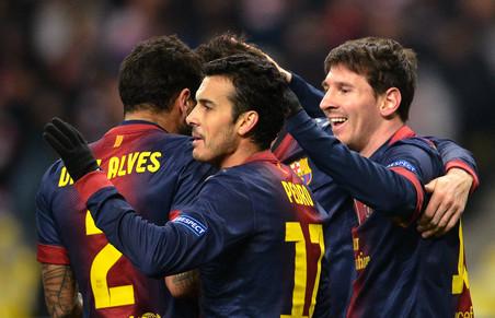 Барселона разгромила сельту в матче примеры