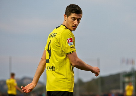 Бавария обыграла боруссию из менхенгладбаха в матче 18-го тура бундеслиги