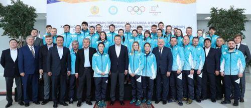 Церемония проводов олимпийской сборной казахстана в пхёнчхан-2018 состоялась в алматы