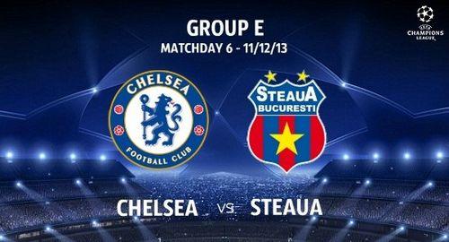 «Челси» — «стяуа»: перед матчем