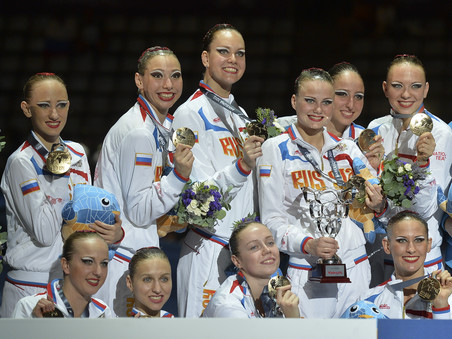 Члены сборной россии по синхронному плаванию рассказали о своем успехе на чм