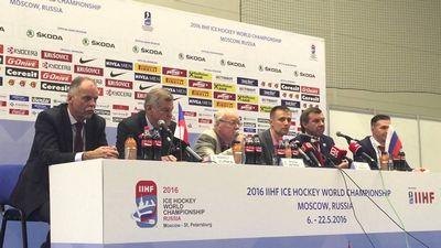 Чм-2016. россия – чехия. пресс-конференция