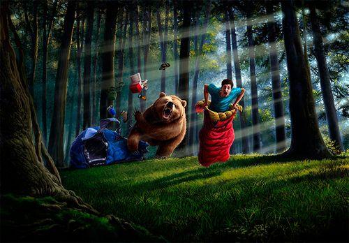 Что делать, если напал медведь