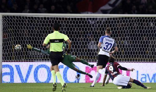 Дебютный матч итальянской осени.болонья-интер