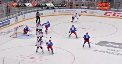 «Дерись с канадцами до крови!» ледовое побоище в матче россия – канада (видео)