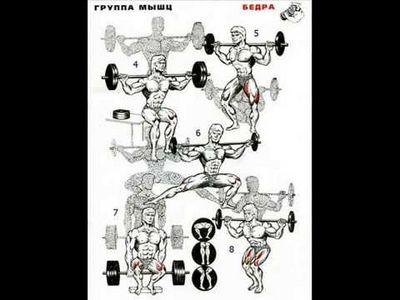 Домашняя программа упражнений для мужчин с гантелями
