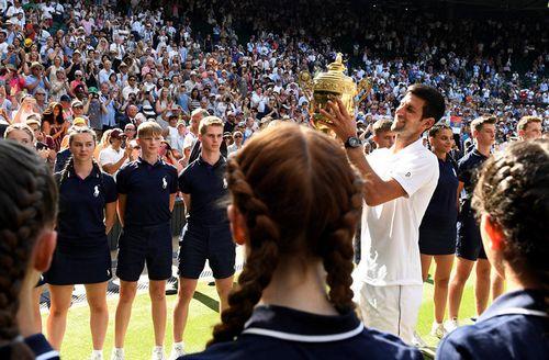 Джокович снова чемпион «большого шлема»