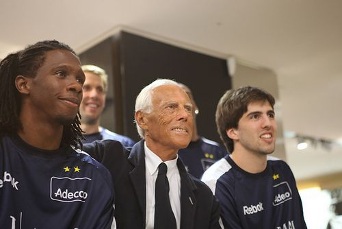 Джорджо армани – главный фан баскетбола в италии