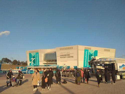 Gangneung hockey centre – главный хоккейный стадион олимпиады-2018