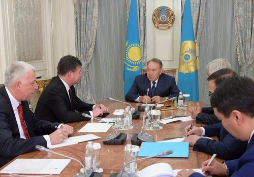 Глава государства провел встречу с министром иностранных и европейских дел словакии