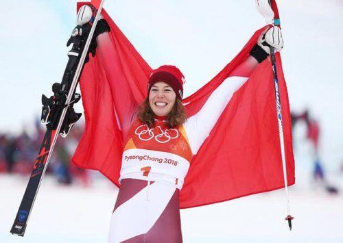 Горнолыжница гизин: я знала, что знала, что для медали должна проехать слалом своей жизни - «спорт»