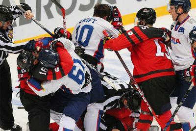 Игроки канады и южной кореи — о первом матче на кубке первого канала
