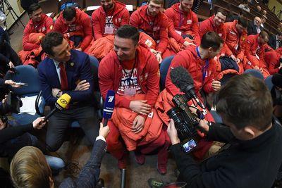 Иностранный журналист провоцировал ковальчука вопросами об олимпиаде
