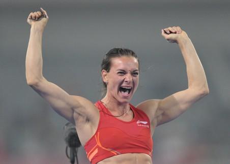 Исинбаева стала чемпионкой россии спустя 10 лет