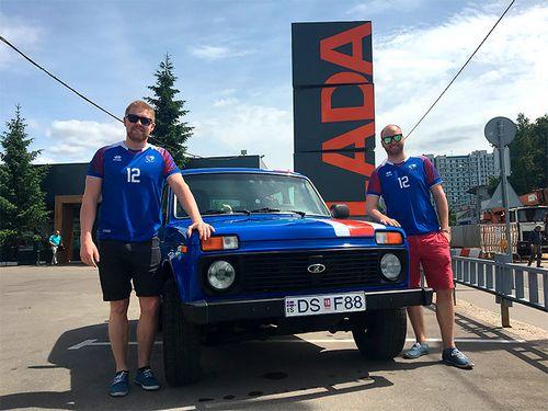 Исландцы приехали в россию на «ниве». я встретил их на границе