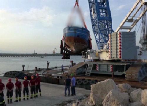 Итальянские моряки достали со дна средиземного моря 675 тел