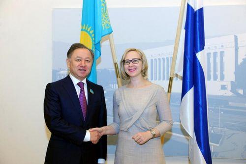 Итоги двухдневного визита парламентской делегации казахстана в финляндию