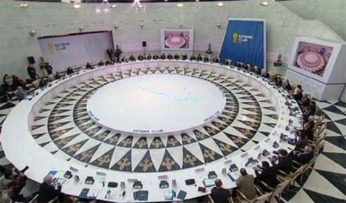 Итоги второго заседания астанинского клуба подвели в столице