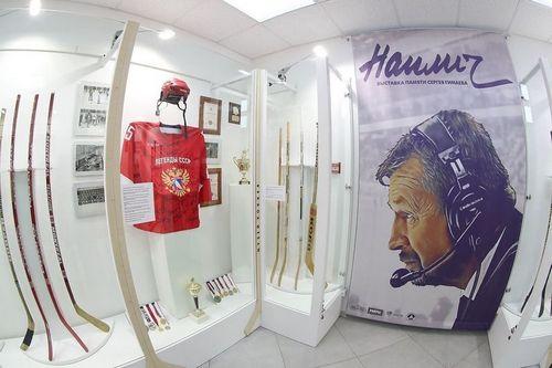 «Я лучше умру на льду!» репортаж с открытия выставки памяти сергея гимаева
