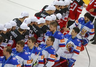 «Это было неспортивно и крайне неуважительно». реакция мировой прессы на уход сборной россии со льда до канадского гимна