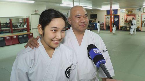 Юная казахстанка стала чемпионкой по карате в америке