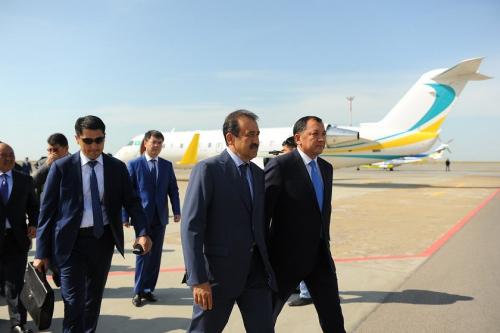 Карим масимов прибыл с рабочей поездкой в атыраускую область