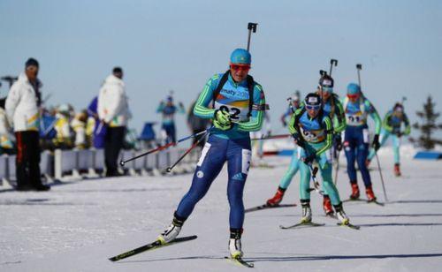 Казахстанские биатлонисты заняли 18-е место на олимпиаде 2018