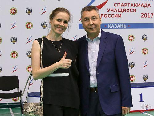 Казань становится центром бадминтона россии