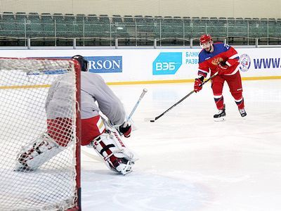 «Ковальчук уже готов к олимпиаде!». игроки ска хвалили форварда и вратаря