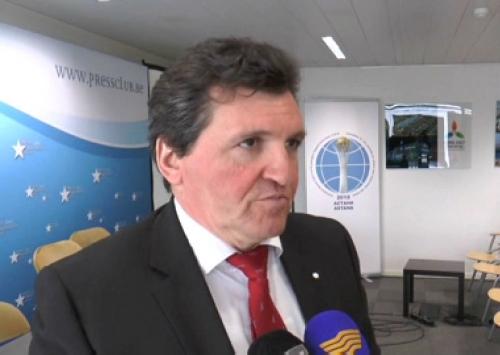Круглый стол «казахстан: 25 лет единства и созидания» состоялся в брюсселе