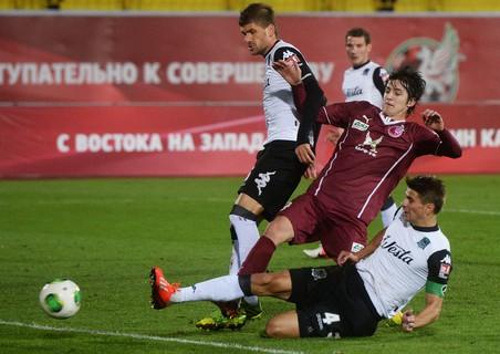 Кубань разгромила волгу в матче 16-го тура чемпионата россии по футболу
