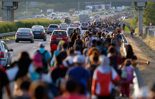 Ливию накрыла волна африканских мигрантов