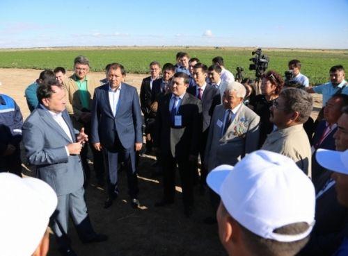 М.кул-мухаммед посетил с рабочей поездкой атыраускую область