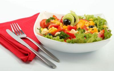 Меню для сушки - салат средиземноморский