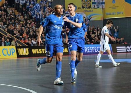 Мфк «динамо» проиграло «кайрату» в финале мини-футбольного кубка уефа