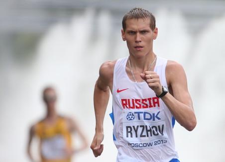 Михаил рыжов о серебряном заходе на чемпионате мира по легкой атлетике 2013