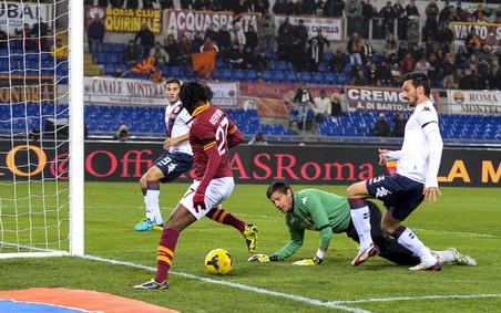 Милан обыграл катанию в матче 14-го тура серии а