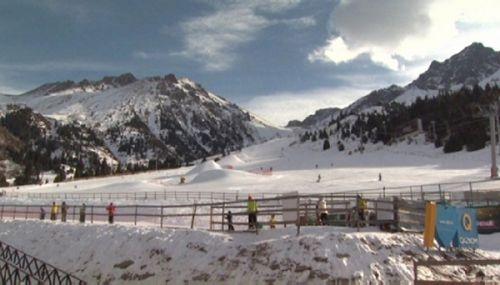 Молодежной сборной алматы выделили трассу на «шымбулаке»