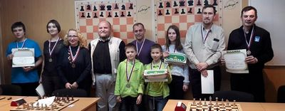 Молодые свердловские шахматисты завоевали на турнире европы четыре медали