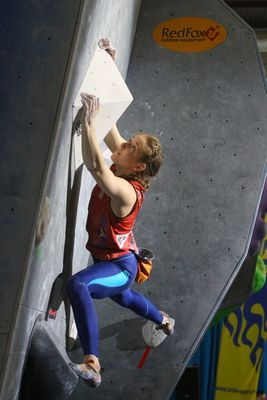 Московская скалолазка выступит на летней юношеской олимпиаде-2014!