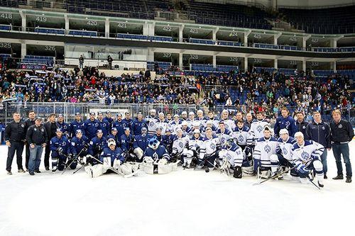 Московское «динамо» закрыло хоккейный сезон-2016/17 и подвело итоги