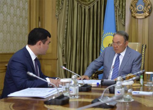 Н.назарбаев дал ряд поручений министру по инвестициям и развитию рк