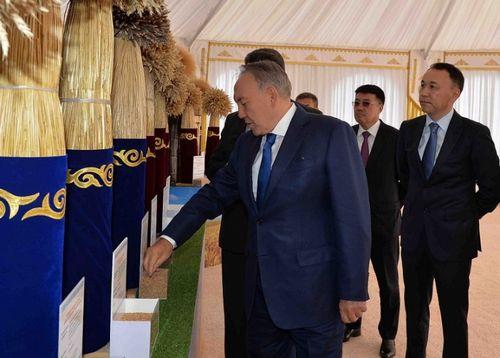 Н.назарбаев поручил активнее использовать достижения аграрной науки
