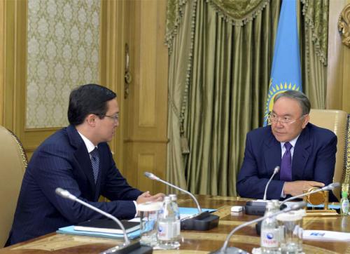 Н.назарбаев: решение о введении свободно плавающего обменного курса было правильным