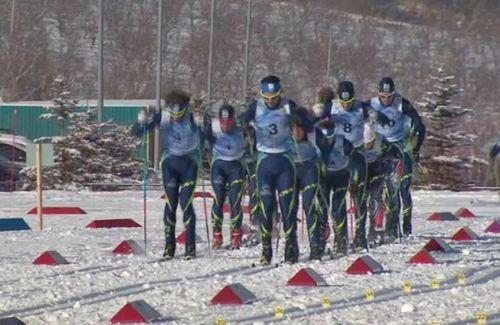 На лыжно-биатлонном стадионе «алатау» продолжается iv спартакиада по лыжным гонкам