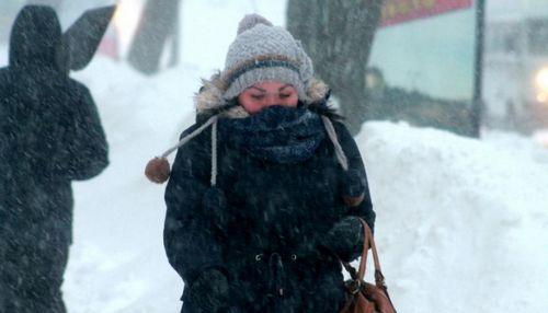 На востоке казахстана непогода доставляет первые проблемы